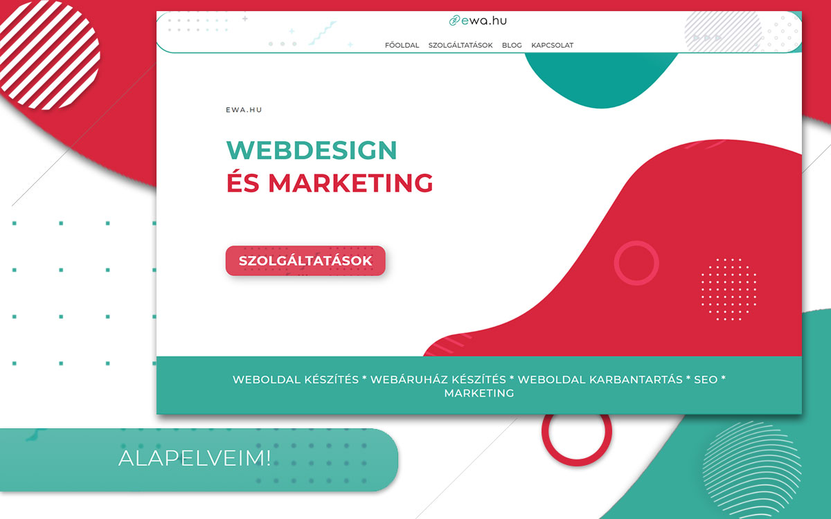 Webdesign és marketing - ewa.hu